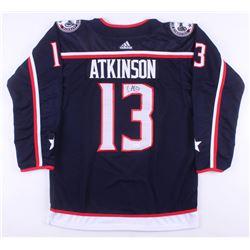 Cam Atkinson Signed Columbus Blue Jackets Jersey (JSA COA)