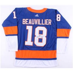 Anthony Beauvillier Signed New York Islanders Jersey (JSA COA)