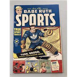 "1950 ""Babe Ruth"" Issue #7 Sports Comics Comic Book"