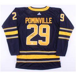 Jason Pominville Signed Buffalo Sabres Jersey (JSA COA)