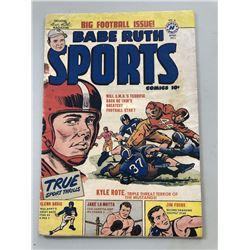 "1950 ""Babe Ruth"" Issue #10 Sports Comics Comic Book"