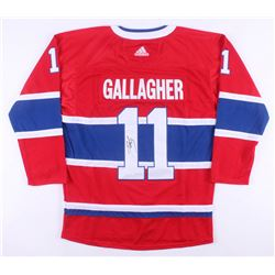 Brendan Gallagher Signed Montreal Canadiens Jersey (JSA COA)
