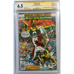 "Chris Claremont Signed 1978 ""X-Men"" Issue #109 Marvel Comic Book (CGC Encapsulated - 6.5)"