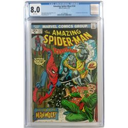 "1973 ""The Amazing Spider-Man"" Issue #124 Marvel Comic Book (CGC 8.0)"