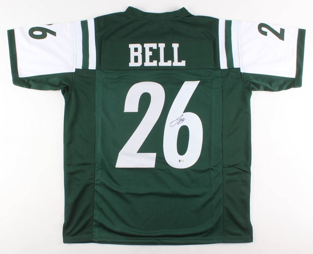 factory authentic 70583 d3155 Le'Veon Bell Signed New York Jets Jersey (Beckett COA)
