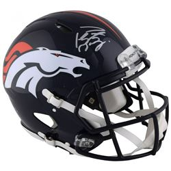 Peyton Manning Signed Denver Broncos Full-Size Authentic On-Field Speed Helmet (Fanatics Hologram)