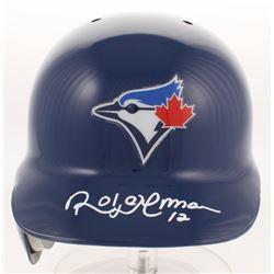 Roberto Alomar Signed Toronto Blue Jays Full-Size Authentic Batting Helmet (JSA COA)