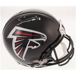 Calvin Ridley Signed Atlanta Falcons Full-Size Authentic On-Field Helmet (Radtke COA)