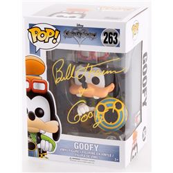 "Bill Farmer Signed  Inscribed ""Goofy"" Kingdom Hearts Disney #263 Funko Pop! Vinyl Figure (PA COA)"