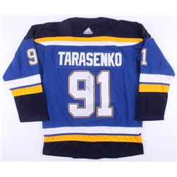 Vladimir Tarasenko Signed St. Louis Blues Jersey (JSA COA)