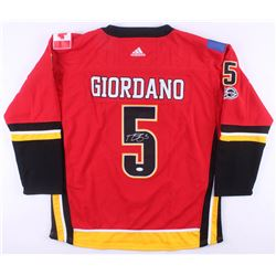 Mark Giordano Signed Calgary Flames Captain Jersey (JSA COA)
