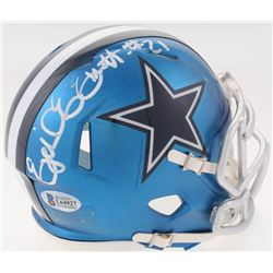Ezekiel Elliott Signed Dallas Cowboys Blaze Speed Mini Helmet (Beckett COA)