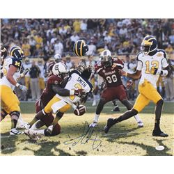 Jadeveon Clowney Signed South Carolina Gamecocks 16x20 Photo (JSA COA)