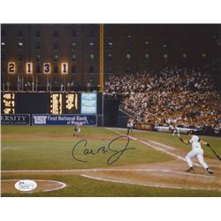 Cal Ripken Jr. Signed Baltimore Orioles 8x10 Photo (JSA COA)
