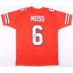Santana Moss Signed Miami Hurricanes Jersey (JSA COA)