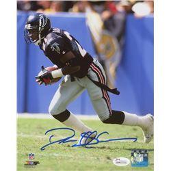 Deion Sanders Signed Atlanta Falcons 8x10 Photo (JSA COA)