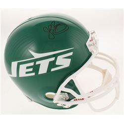 John Riggins Signed New York Jets Throwback Full-Size Helmet (Steiner COA)