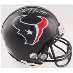 DeAndre Hopkins Signed Houston Texans Mini Helmet (JSA COA)