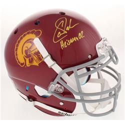 "Carson Palmer Signed USC Trojans Full-Size Authentic On-Field Helmet Inscribed ""Heisman 02"" (Beckett"
