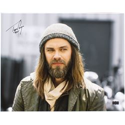 "Tom Payne Signed ""The Walking Dead"" 16x20 Photo Inscribed ""Jesus"" (Radtke COA)"