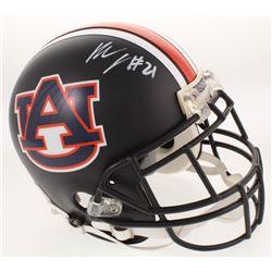 Kerryon Johnson Signed Auburn Tigers Custom Matte Black Full-Size Authetic On-Field Helmet (Radtke C