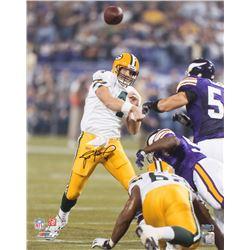 Brett Favre Signed Green Bay Packers 16x20 Photo (Radtke COA)