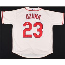 "Marcell Ozuna Signed St. Louis Cardinals Jersey Inscribed ""The Big Bear"" (JSA COA)"