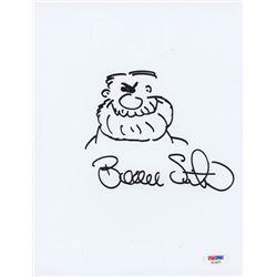 Beau Smith Signed 8.5x11 Cut with Original Sketch (PSA COA)