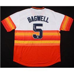 Jeff Bagwell Signed Houston Astros Jersey (JSA COA)