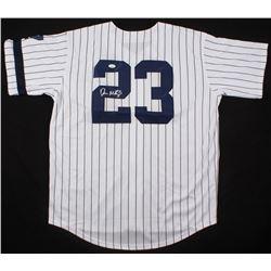 Don Mattingly Signed New York Yankees Jersey (JSA COA)