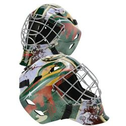 Devan Dubnyk Signed Minnesota Wild Full-Size Goalie Mask (Fanatics Hologram)