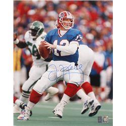 Jim Kelly Signed Buffalo Bills 16x20 Photo (Kelly Hologram)