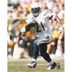 LaDainian Tomlinson Signed San Diego Chargers 16x20 Photo (TriStar  Tomlinson Hologram)