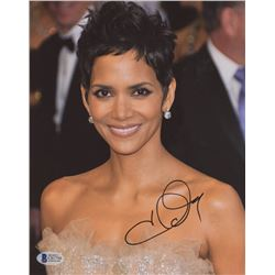Halle Berry Signed 8x10 Photo (Beckett COA)