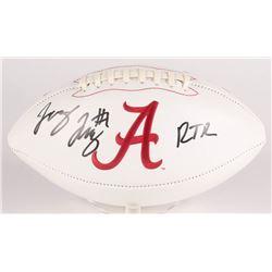 "Jerry Jeudy Signed Alabama Crimson Tide Logo Football Inscribed ""RTR"" (JSA COA)"