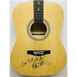 "Melissa Etheridge Signed Acoustic Guitar Inscribed ""Come To My Window"" (JSA COA)"