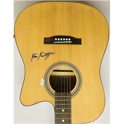 Kris Kristofferson Signed Acoustic Guitar (JSA COA)