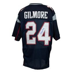 Stephon Gilmore Signed New England Patriots Jersey (Sports Integrity COA)