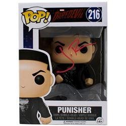 "Jon Bernthal Signed ""The Punisher"" Limited Chase Edition #216 Funko Pop Vinyl Figure (JSA COA)"