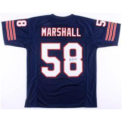 Wilber Marshall Signed Chicago Bears Jersey (JSA COA)