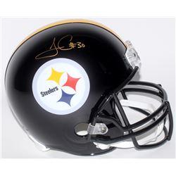 James Conner Signed Pittsburgh Steelers Full-Size Helmet (JSA COA)