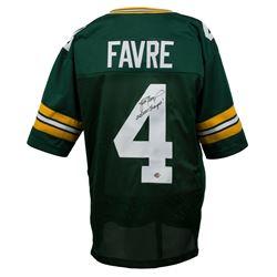 "Brett Favre Signed Green Bay Packers Jersey Inscribed ""SB XXXI Champs!"" (Favre COA)"