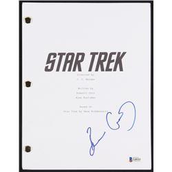 "Bruce Greenwood Signed ""Star Trek"" Full Movie Script (Beckett Hologram)"