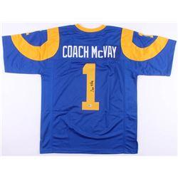Sean McVay Signed Los Angeles Rams Jersey (Beckett COA)