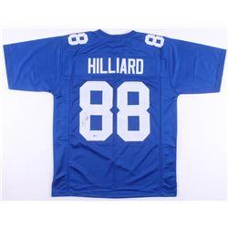 Ike Hilliard Signed New York Giants Jersey (Beckett COA)
