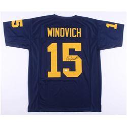 Chase Winovich Signed Michigan Wolverines Jersey (JSA COA)
