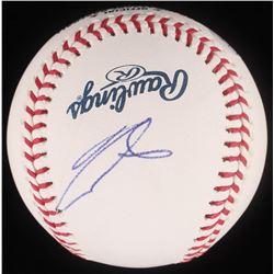 Ronald Acuna Jr. Signed OML Baseball (JSA COA)
