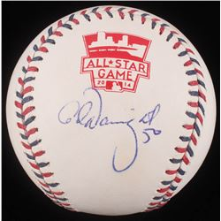 Adam Wainwright Signed 2014 All-Star Game Logo Baseball (PSA COA)