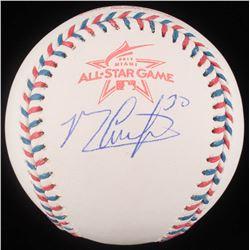Michael Conforto Signed 2017 All-Star Game Logo Baseball (JSA COA)