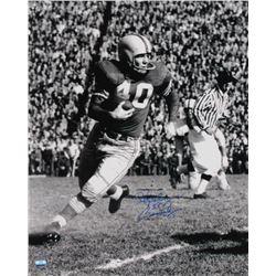 """Howard Cassady Signed Ohio State Buckeyes 16x20 Photo Inscribed """"55"""" (Cassady Hologram)"""